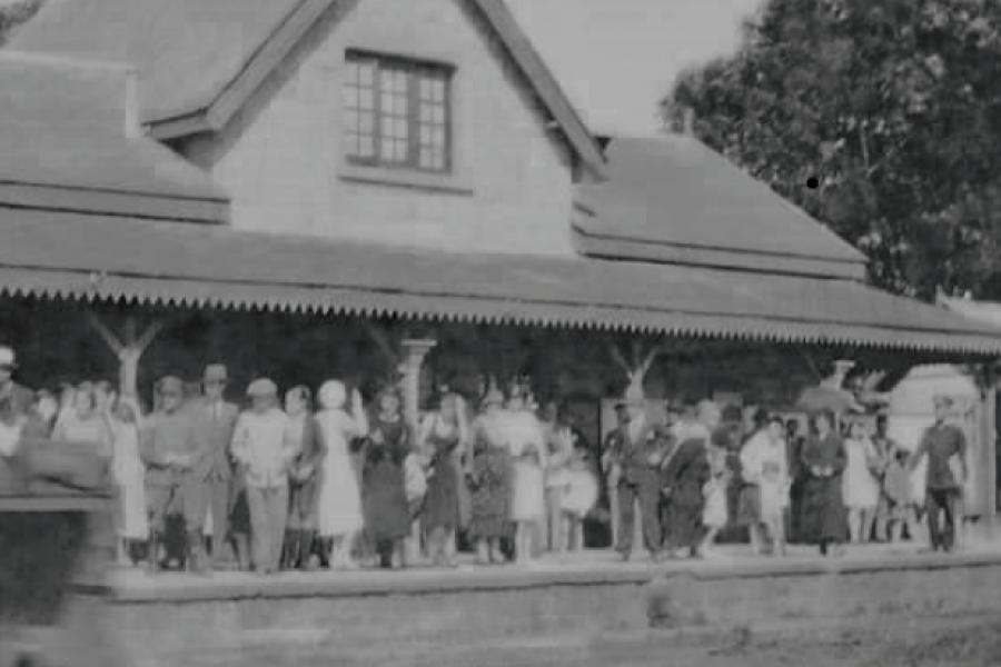 La vieja estación de trenes de San José.